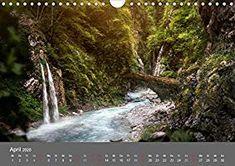 Zwielicht - Fantasylandschaften Wandkalender 2020 DIN A4 quer: Amazon.de: Simone Wunderlich: Bücher Waterfall, Digital Art, Outdoor, Wall Calendars, Waterfalls, The Great Outdoors, Outdoors
