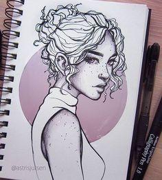 Images of art sketches ideas - Cool Drawings, Drawing Sketches, Pencil Drawings, Drawing Ideas, Drawing Pictures, Flower Drawings, Sketching, Fantasy Sketch, Arte Sketchbook
