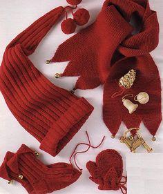 Explications gratuites L'écharpe, le bonnet, les chaussettes et les moufles lutin - La Boutique du Tricot et des Loisirs Créatifs