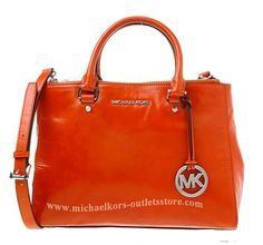 orange michael kors bag - I've got a couple already, but not this one....