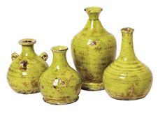 French Market 4 Piece Prosecco Bud Vase Set