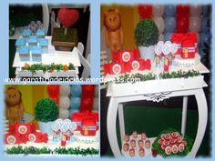 Leão - festa Mágico de Oz