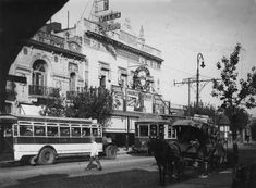 Cine Villa Crespo, Triunvirato 835 (hoy Av. Corrientes 5535) 1930. Villa, 1930s, Curly, Old Photos, Countries, Cities, Movies, Fotografia, Fork