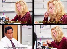 The Office, televison, comedy Angela The Office, Best Of The Office, The Office Show, Best Tv Shows, Best Shows Ever, Favorite Tv Shows, Movies And Tv Shows, Office Jokes, Office Gifs