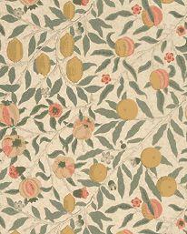 Fruit Beige/Gold/Coral från William Morris & Co