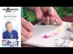 How to Make the Daisy Chain Stitch with Marlynn McNutt.