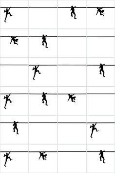 Jumping the Wall (tiles) 2016 Ligia de Medeiros