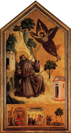 Giotto's Saint Francis Receives the Stigmata has always just seemed really neat to me.