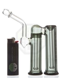 Purr Glass - Slim Double Bubbler