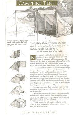 Baker tent or Bill Mason Tent - Canoetripping.net Forums.