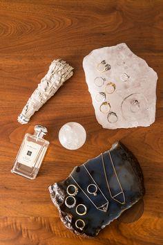 Tamila Purvis designer of ManiaMania jewellery for COTW INTERIORS & JO MALONE MIMOSA & CARDAMOM // CITIZENS OF THE WORLD