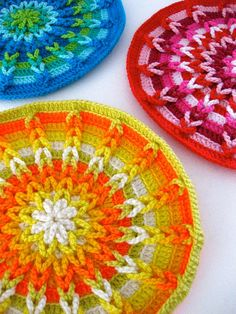 Kaleidoscope trivet pattern by Sarah London- $7