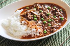 <p>Hayashi Rice is Japanese beef stew poured over Steamed Rice.  Hayashi sauce has distinct flavors of demi-glace brown sauce and red wine.  It has been a popular western style Japanese dish since the early 1900s.  Hayashi Rice is often found on a menu at Yoshoku-ya (western style food restaurants) along …</p>
