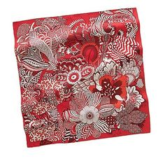 #red #silk #scarves for your fashion statement...