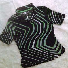 JAMIE SADOCK Golf Tennis Active Lightweight Womens Top Blouse SZ M #JamieSadock #ShirtsTops