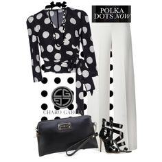 go CG dots by norwich-ave on Polyvore featuring moda, Dolce&Gabbana, P.A.R.O.S.H., Giuseppe Zanotti, Garcia, Lanvin and Olsen