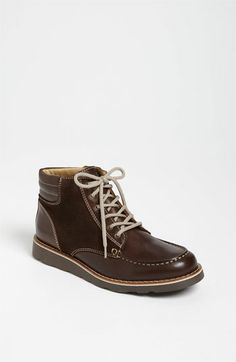 Armani Junior Leather Boot (Toddler f90a5b13a7c