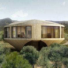 Projetos arquitetônicos diferenciados são cada vez mais comuns atualmente. Embora as casas redondas não sigam um conceito exatamente novo, elas são raras de se ver, sobretudo nas áreas urbanas. O que muita gente não