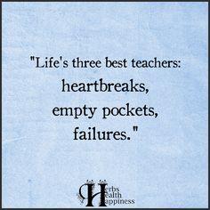 Life's Three Best Teachers►►http://www.eminentlyquotable.com/lifes-three-best-teachers/?i=p