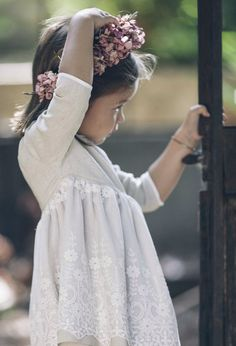 natural knit lace with vintage wide lace trim Girls Dresses, Flower Girl Dresses, Flower Girls, Wedding Pinterest, Wedding With Kids, Bridesmaid Dresses, Wedding Dresses, Bridesmaids, My Baby Girl