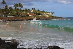 Boogie Boarding at Brennecke Beach, Kauai - need to revisit! didn't get to spend much time on the beach last time