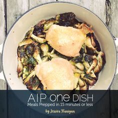 This cookbook is a collection of recipes I have gathered to make my life easier while eating AIP. The idea of a one-dish meal usually means that the meal is like a stew, soup or casserole. While I love a good casserole, it can get a bit tiresome. I like wh...
