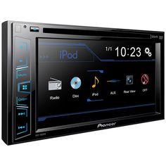 "Pantalla táctil Pioneer AVH-190DVD 6.2"" CD/DVD"