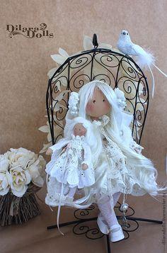 Dilara Dolls - Elen Realistic Baby Dolls, Angel Crafts, Fabric Toys, Sewing Toys, Waldorf Dolls, Soft Dolls, Collector Dolls, Doll Crafts, Cute Dolls