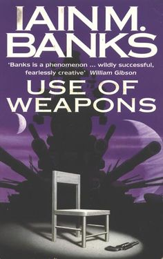 My favourite book by my all time favourite sci fi author, Iain M Banks.