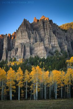 Crowned in Glory by Jacob Routzahn, via 500px; Colorado