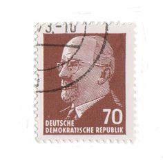 Stamp Printing, Gold Face, East Germany, Politics, Coding, Prints, Design, Programming