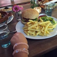 #withlovecompassion #braceletforacause #maisonblunt #falafelburger #vegetarian Falafel Burgers, Social Organization, Compassion, Vegetarian