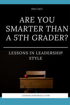 Girls Leadership | Leader Styles | Ambition