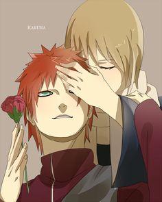 Naruto : Gaara and his mother