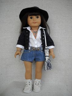 American Girl Doll Clothes 8 piece Rock outfit