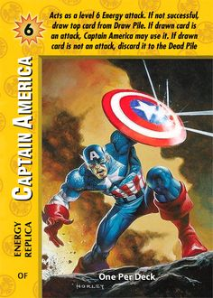 OPD OverPower: Enforcers Mr Ungraded - CCG Marvel DC Image Big