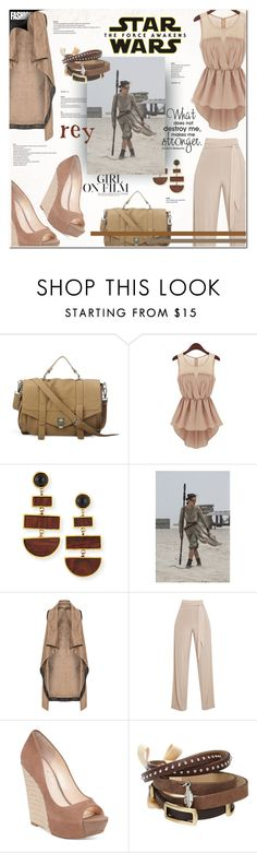 """""""Star Wars: The Force Awakens"""" by sinesnsingularities ❤ liked on Polyvore featuring Lizzie Fortunato, Mat, Jessica Simpson, TOKYObay, starwars, contestentry and theforceawakens"""