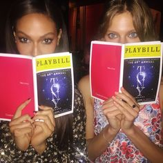 The Best Celebrity Instagrams from the 2015 Tonys