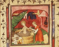 Bathing, Beauty and Christianity in the Middle Ages - Medievalists.net