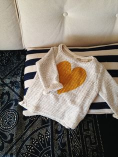 little heart sweater | from zara kids