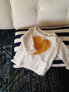 little heart sweater for my little lady | from zara kids