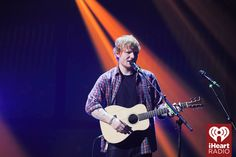 Ed Sheeran onstage at the 2014 iHeartRadio Music Festival! #iHeartRadio
