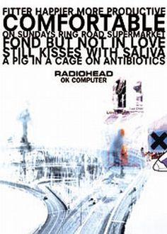 Radiohead OK Computer Regular Poster (01-0927)