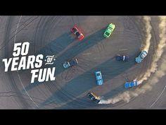 ▶ Ford Mustang Celebrates 50 Years of Fun #mustang