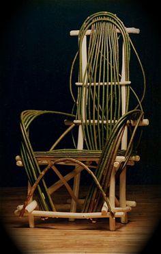 willow furniture, hobbit style furniture