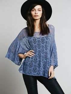 Free People Windows to the Soul Pullover, $128.00