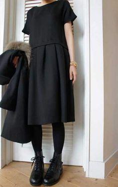 Dress black outfit classy fashion ideas 46 Ideas Source by dresses fashion classy Trendy Dresses, Nice Dresses, Casual Dresses, Fashion Dresses, Casual Outfits, Simple Dresses, Look Fashion, Trendy Fashion, Womens Fashion