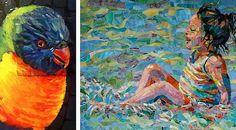 Mosaico na Rede     mosaic  Carol Shelkin
