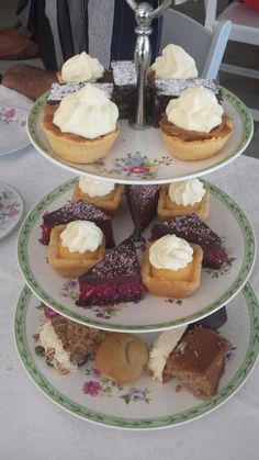 High Tea at Hervey Range Heritage Tea Room - Places to visit in Townsville Cake Tower, Baby Changing Tables, Tea Packaging, Fruit Punch, China Tea Cups, High Tea, Beautiful Cakes, Afternoon Tea, Catering
