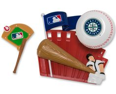 13500 - MLB Home Run DecoSet® Cake Topper, Seattle Mariners